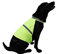 2016 Fashion Reflecting Safety Dog Vest Outdoor Safety Vest with Reflective Tape Pets Dog Night Walking Clothes