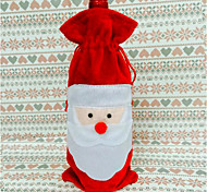 Europe And Selling Wine Bags Santa Claus Christmas Gift Bags Red Bottle Sets