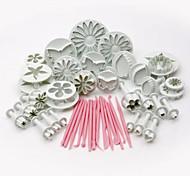 47pcs Horneando Gran venta / decoración de pasteles / De Armar Pastel Plástico Utensilios de Decoración