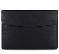 "Sleeve for MacBook 15.4"" Solid Color Genuine Leather Material Luxury Slim Leather Computer Bag Series"