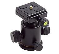 titular de bola liga de alumínio cabeça tilt-3 HY com placa de liberação rápida para câmera digital 5 kg de carga máxima