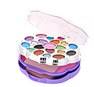 Colorful Flowers Beauty Makeup Powder Makeup Box Set
