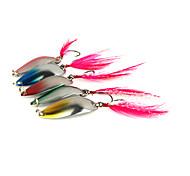"""5 pc Cucchiai Multicolore 2.5g g/1/10 Oncia,30 mm/1-1/4"""" pollice,MetalloPesca di mare / Spinning / Pesca di acqua dolce / Pesca con esca"""