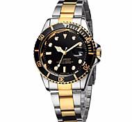 Мужской Нарядные часы Модные часы Наручные часы Календарь Цветной Кварцевый Нержавеющая сталь Группа Винтаж Cool Повседневная Люкс