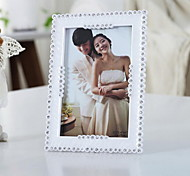 6-Inch Photo Frame Swing Sets With Diamond Crown Heart Shape Border Wedding Photo Studio Frame (Random Shape)