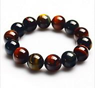 6mm Beads Strand Bracelet for Men/Women