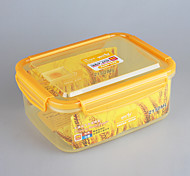marque yooyee bol en plastique contenant hermétique promotionnel 2l de stockage des aliments avec couvercle