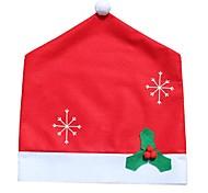 Non-Woven Christmas Decorations Snowflake Chair Snowflake Chair Sets 50 * 65Cm Set Of Christmas Items