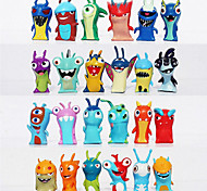 24pcs/set 5cm Anime Cartoon Slugterra Mini PVC Action Figures Toys Dolls Child Toys Gifts