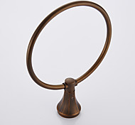 Antique Brass finishing Wall Mounted Brass Material Towel Ring