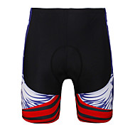 PALADINSPORT New Men 's Cycling Shorts Bike TROUSERS With 3 d Pad Lycra DK654 Blue Skeletons