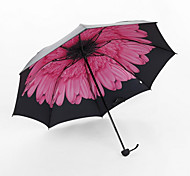 Black Umbrella Uv Sun Umbrella Rain Umbrella Creative Umbrella Umbrellas Monolayer