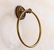 Towel Ring Antique Brass Wall Mounted Towel Racks Bathroom Accessories