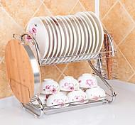 1PCS Küche Küche Edelstahl Netze & Halter 38*52*24