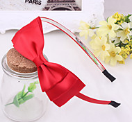 Korean Flower Girl's Bow  Fabric Headbands