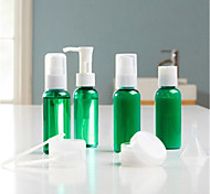 Beauty Artisan   Cosmetic Bottle Plastic 9 Others 12.1*3.2cm Set Blue / Green / Transparent