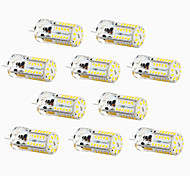 4W G4 Luci LED Bi-pin T 57 SMD 3014 300-450 lm Bianco caldo / Luce fredda / Bianco Decorativo / Impermeabile DC 12 V 10 pezzi