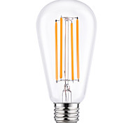 4W E27 ST64 Vintage LED Edison Bulbs Filament Light Bulb Energy Saving 4W LED- 40W Equivalent(220-240V)