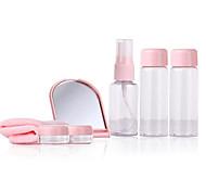 Fenlin ® Super Travel Makeup Set Towel+Mirror+Comb+Bottles 9 in One Set Random Color