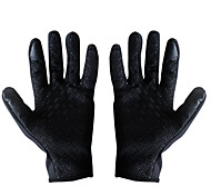 Winter Gloves Unisex Keep Warm Ski & Snowboard Pink / Black Canvas Free Size-Others