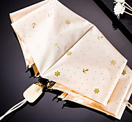 Signorina. ancoraggio abbronzante lusso timone vento fresco ombrello di sole automatico triplo oro plastica uv del sole ombra ombrello