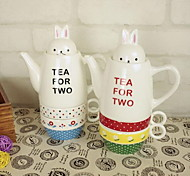 The Rabbit Ceramic Cup Couple Coffee Cup