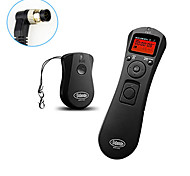 Sidande® LCD Time Lapse Remote Control Timer Shutter Release for Nikon D800 D700 D300 D300S D200 D100 N90S