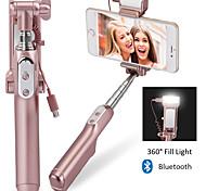 Bluetooth selfie palillo Con Un cable / Un selfie Palo para Android / iOS