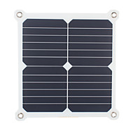 13W 5V Dual USB Output High Efficiency Solar Panel Charger for iPhone 6S Samsung Xiaomi Huawei(SWH13U)