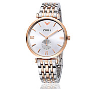 ZHHA Women's Men's Watch high quality super thin quartz couple watches Fashion Dress Watch Wrist Watch