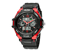 VILAM New Fashion Mens Quartz-Watch Sports Watches Men' s Quartz Men Clock Wristwatches Outdoor Sports