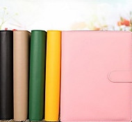 Loose-leaf Folder PDA Stationery Notebook Retro Thick A5 Diary Notepad