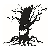 Art Home Decoration Removable Wall Stickers Halloween Party Necessity Horrible Tree Ghost Living Room Wall Large Decals
