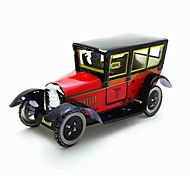 The Car Wind-up Toy Leisure Hobby  Metal Red For Kids