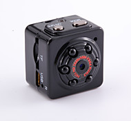 HYQ9 Webcam HD Camera Mini DV with 6pcs LED Light