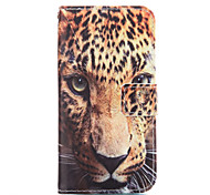 The Leopard Leather Wallet for Samsung Galaxy A5 A7 A3(2016) A5(2016) A7(2016)