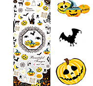 1 pcs Nail Art Water Transfer Halloween Sticker Pumpkin Animal Image Nail Beauty HOT302