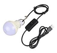 5W 4-pin LED Kugelbirnen A60(A19) 1 Hochleistungs - LED 200-300 lm Warmes Weiß / Natürliches Weiß Dekorativ <5V V 1 Stück