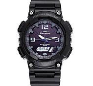 Masculino Relógio Esportivo Energia Solar Cronógrafo / Energia Solar / Cronômetro / Resistente ao Choque Borracha BandaCasual / Padrão