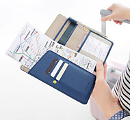 Long Wallet Passport Holder Ticket Case