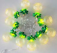 NO 1.5 M 10 Diodo LED Amarillo A Prueba de Agua W Cuerdas de Luces <5V V