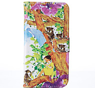 for Samsung Galaxy A3 A5 2017 Tree Leather Wallet for Samsung Galaxy A3 A5 A7 2016 2017