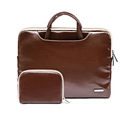 11.6 13.3 15.4 Inch Pu Leather Laptop Bag for Macbook/Dell/Hp/Sony/Surface/Ausa/Acer/Samsun,etc
