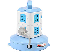 Vertical Socket Layer with Smart Power Strip Socket Wiring Board