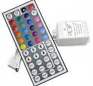 44Keys LED IR RGB Controler For RGB SMD 3528 5050 Strip LED Lights Controller IR Remote Dimmer Input DC12V