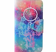 Campanula Pattern PU Material New High-End Card Holder Phone Case For Samsung Galaxy J3 (2016) J5 J5 (2016)