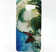 EFORCASE® Painted Big Butterfly TPU Phone Case for Samsung Galaxy A7(2016) A5(2016) A5 A3(2016)