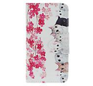 Katzenmalerei tpu Material Mobile Shell Fall mit Kartensteckplätze stehen für iphone 7 7plus 6s 6Plus se 5s 5