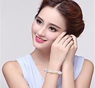 Bracelet Chain Bracelet Crystal Geometric Fashion Halloween / Birthday / Wedding / Party Jewelry Gift Translucent1pc