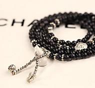 Femme Bracelets de rive Bracelets Mode Gemme Forme de Cercle Bijoux Pour Décontracté